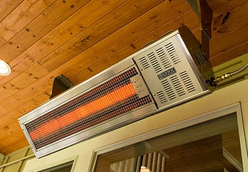 patio heaters at the outdoor store