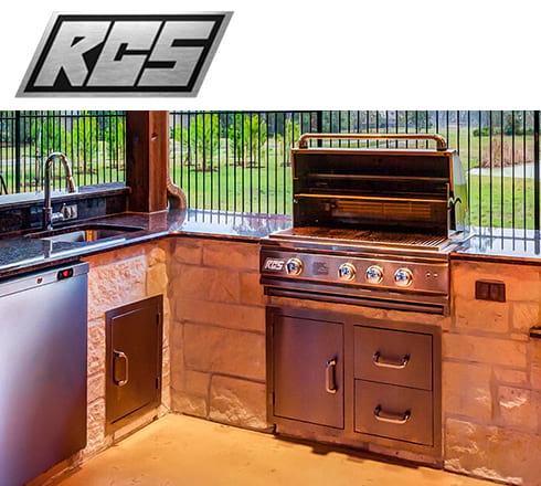 rcs grills at the outdoor store