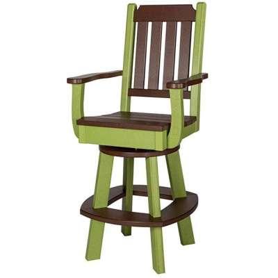 Finch Keystone Swivel Bar Chair