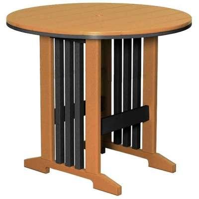 Finch Keystone 48-Inch Round Bar Table
