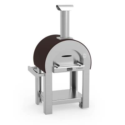 Alfa 5 Minuti Wood-Fired Pizza Oven on Cart- FX5MIN-LRAM-T