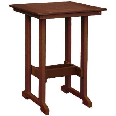 Finch Great Bay 29.25-Inch Square Bar Table