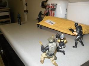 Countertop G.I. Joes