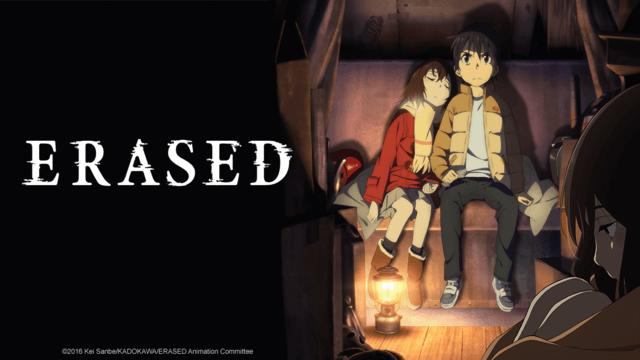 erased time travel anime