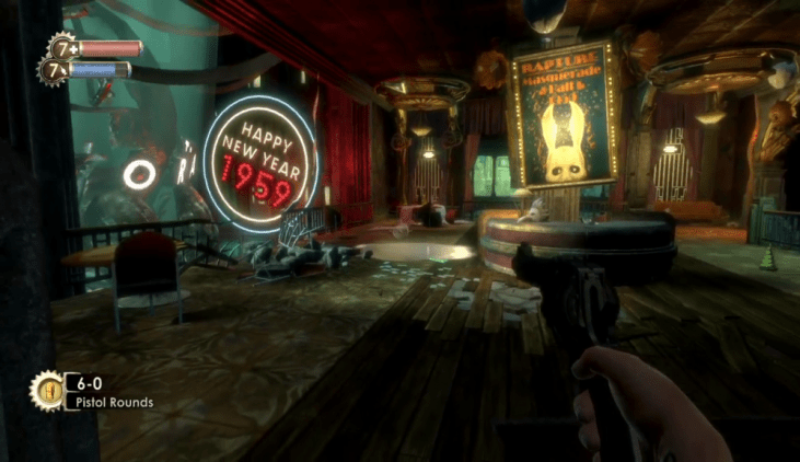 The Dark yet colorful dampness of Bioshock