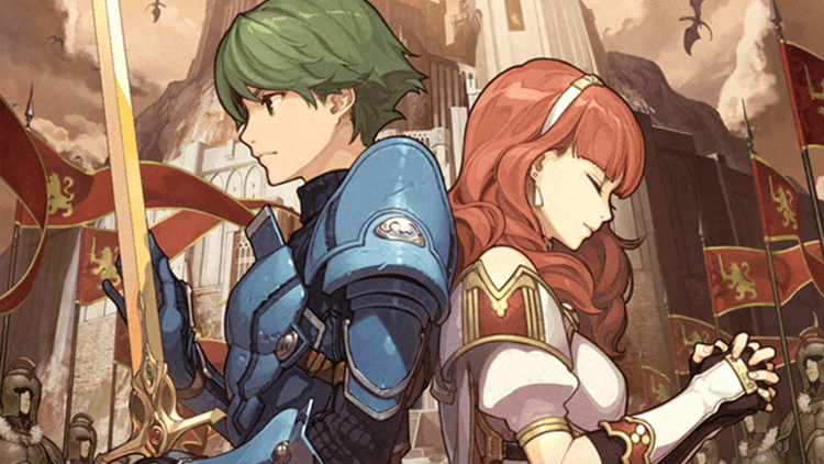 Alm and Celica