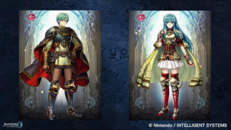 Ephraim Eirika Fire Emblem heroes