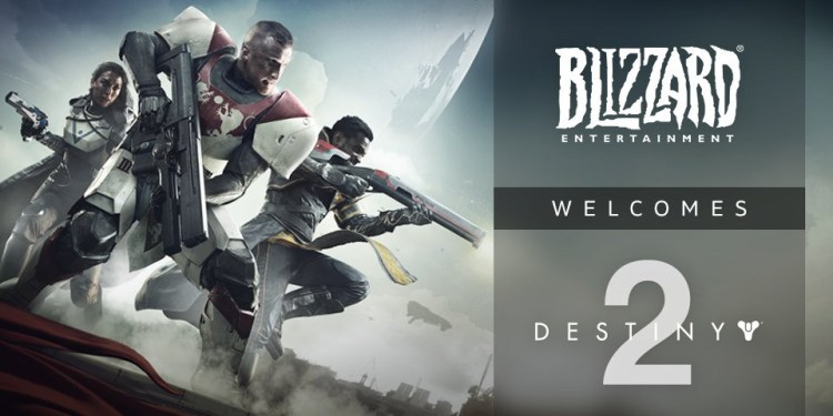 Blizzard Welcomes Destiny