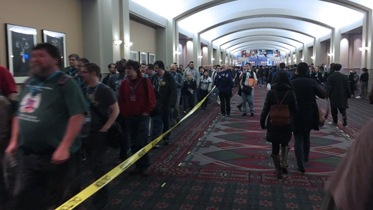 PAX Unplugged 2017 Queue Line - The Outerhaven
