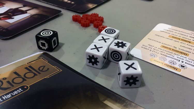 Robit Riddle Dice - The Outerhaven