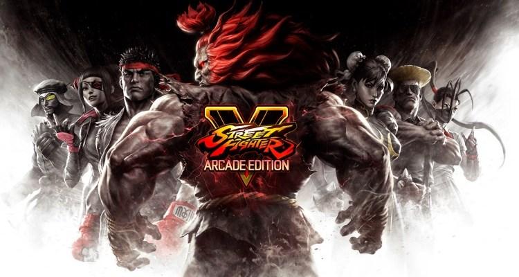 street fighter V arcade edition header