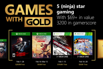 Xbox Games with Gold - Feb 2018