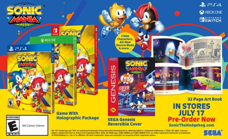 Sonic Mania Plus All systems