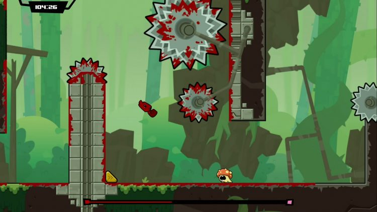 Super Meat Boy Forever - Green Hills - PAX East 2018 - The Outerhaven