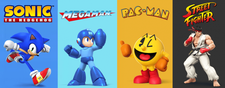 3rd party game characters