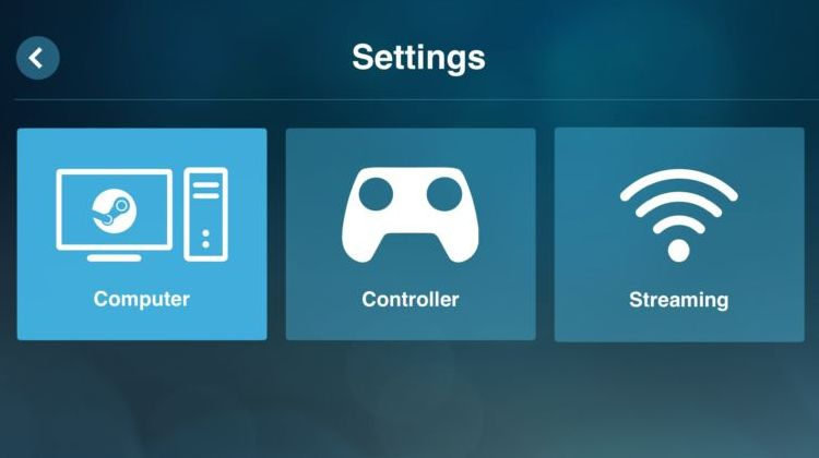 Valves Steam Link running on Android