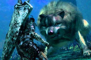 Great Grey Wolf Sif Dark Souls