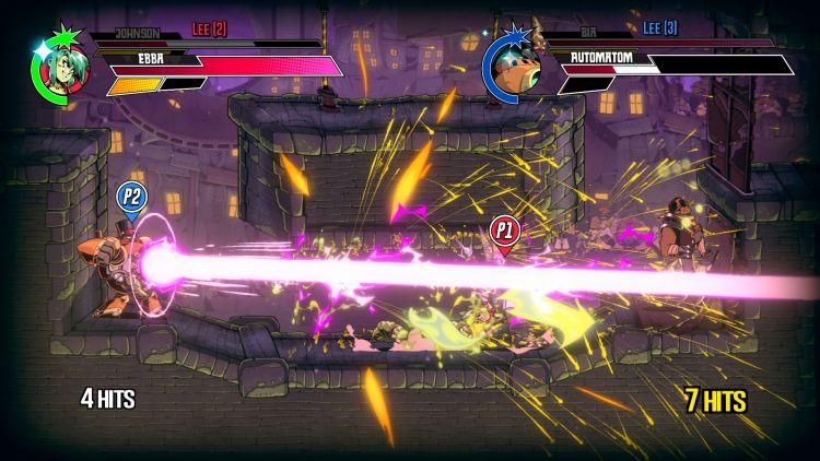 Speed Brawl multiplayer match.
