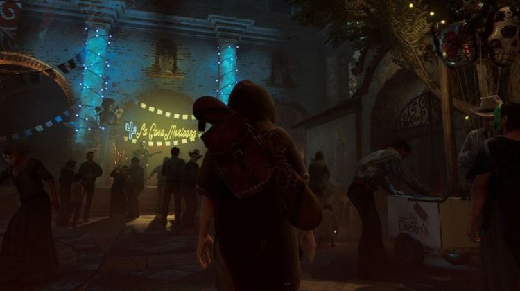 shadow of the tomb raider  just checking out the local celebration