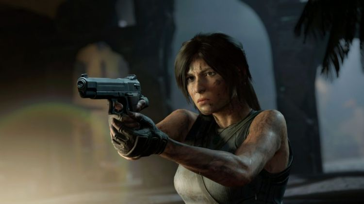 shadow of the tomb raider laras got a gun