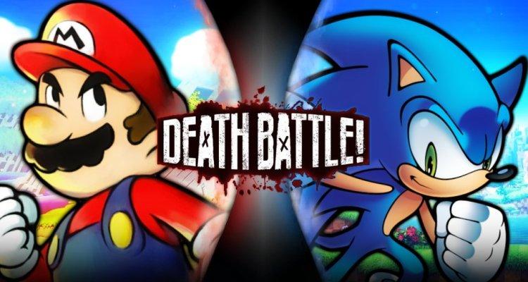 Mario Vs Sonic Death Battle