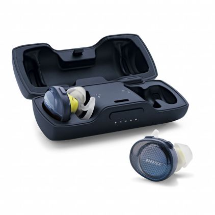 bose soundsport free review case and earbuds