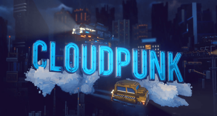 Cloudpunk announcement trailer.