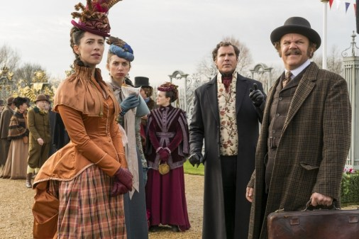 Holmes and Watson and Dr. Hart and Millie
