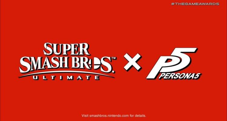 Super Smash Bros Ultimate Persona 5
