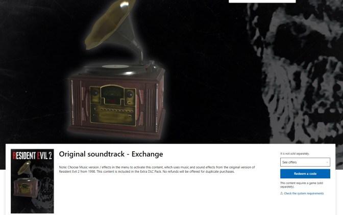 resident evil 2 original soundtrack exchange-01