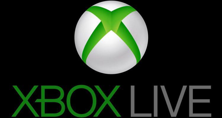 Xbox Live logo - black