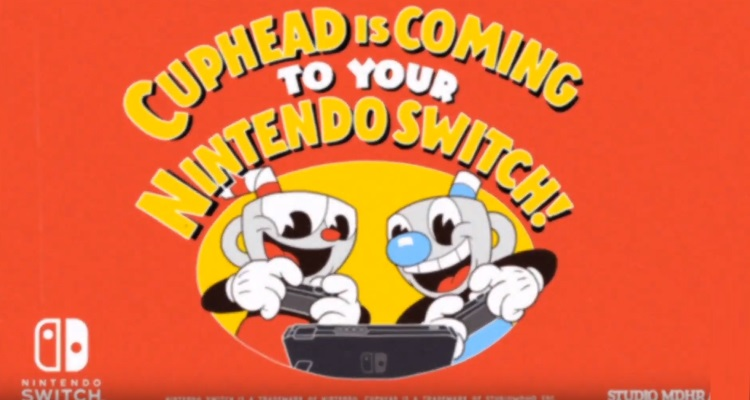 Cuphead is heading to the Nintendo Switch with Xbox Live support