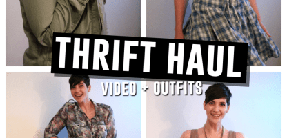 May 2015 Monthly Thrift Haul Video