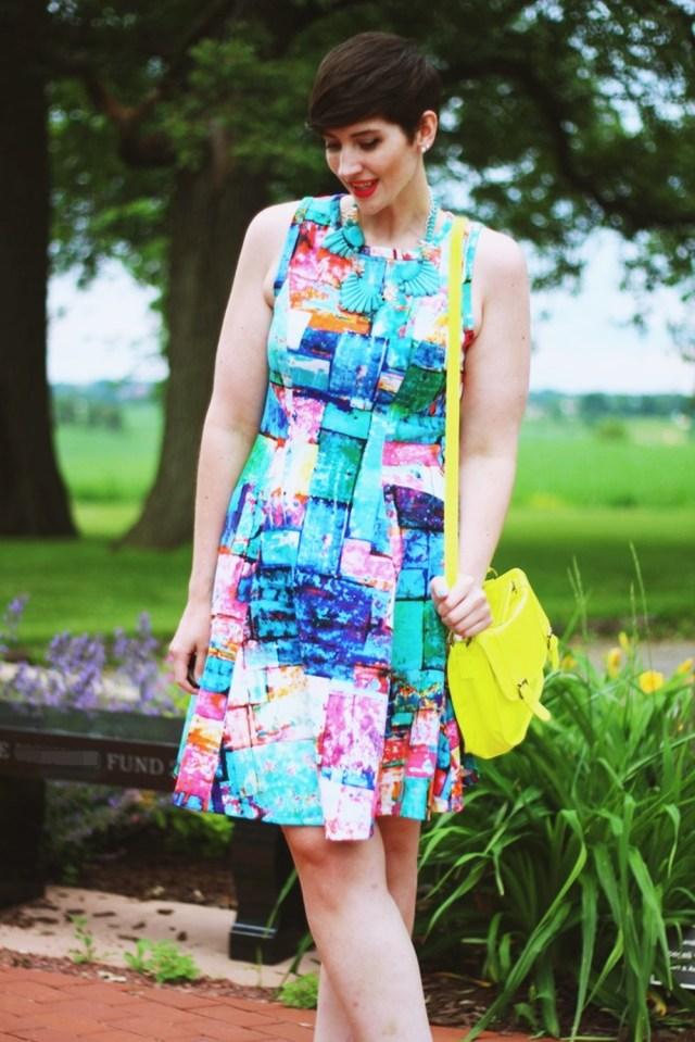hannah rupp the outfit repeater summer karen kane scuba dress