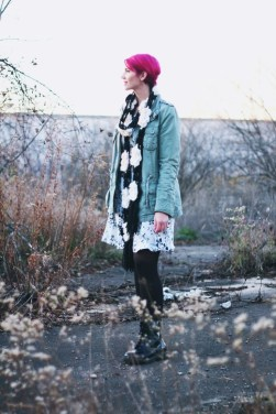 A Far Out Floral Dress