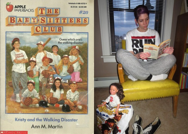 Kristy Thomas of The Babysitters Club outfit recreation
