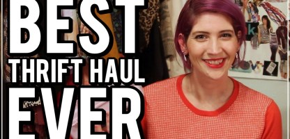 The Best Monthly Thrift Haul Video Ever!