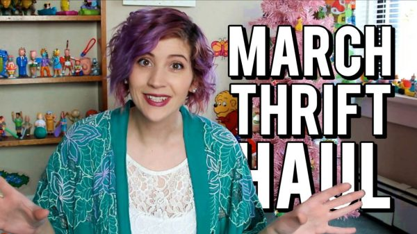 March Monthly Thrift Haul Video