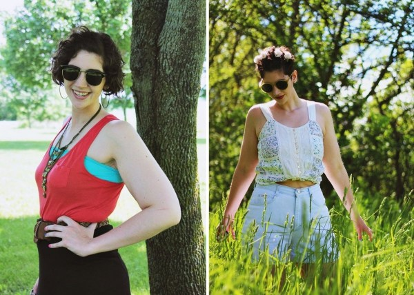 sleeveless tops summer outfits inspiration