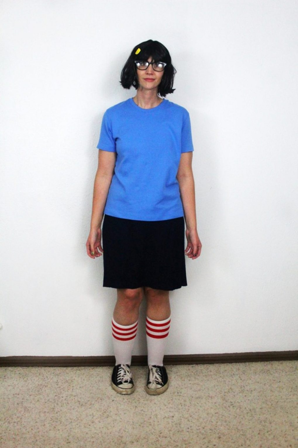 How I Became Tina Belcher For Halloween The Outfit Repeater