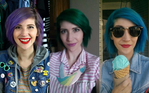 best of 2016 rewind hannah rupp the outfit repeater colorful rainbow hair
