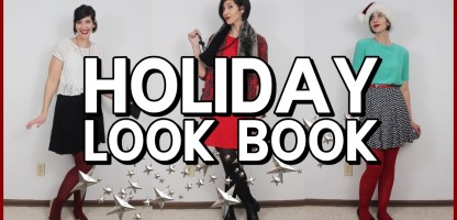 18 Outfit Ideas For Christmas & Beyond: A Thrifted Holiday Look Book