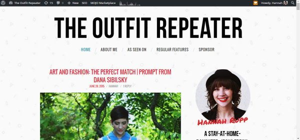 how to start a fashion blog the outfit repeater