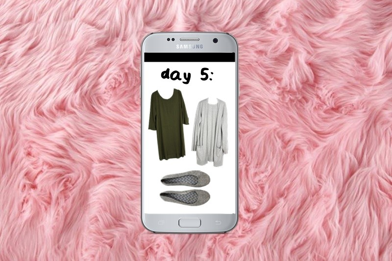 Winter Capsule Wardrobe Challenge: Day 5 the outfit repeater hannah rupp