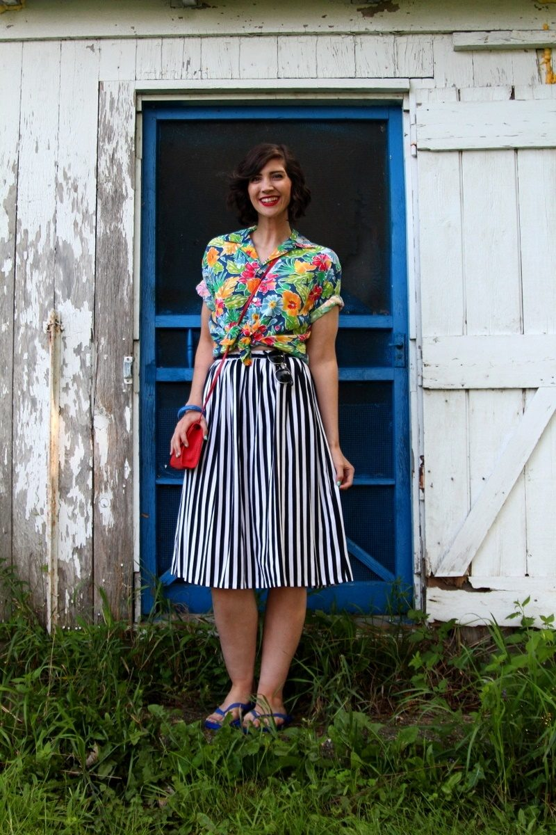 all thrifted outfit secondhand wardrobe day august 2018 hannah rupp the outfit repeater