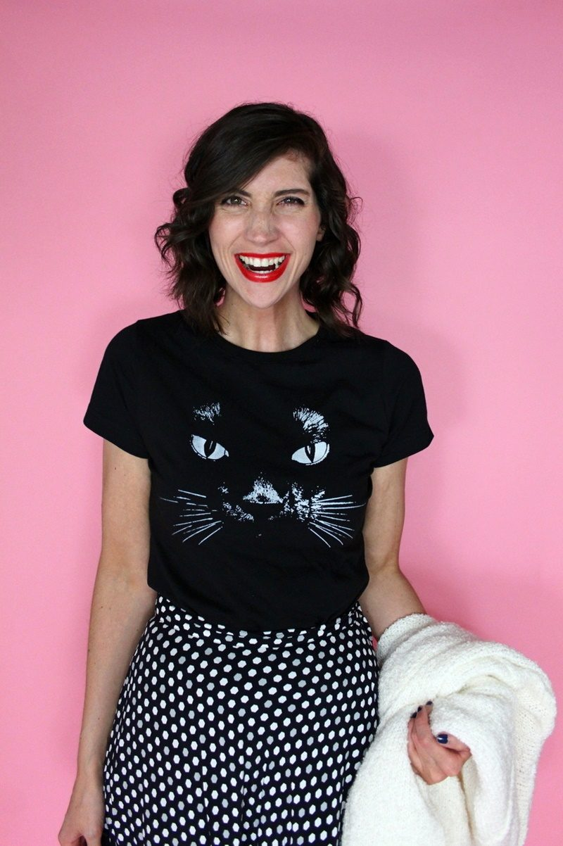 cat t-shirt taylor swift fifth sun hannah rupp the outfit repeater vintage thrifted