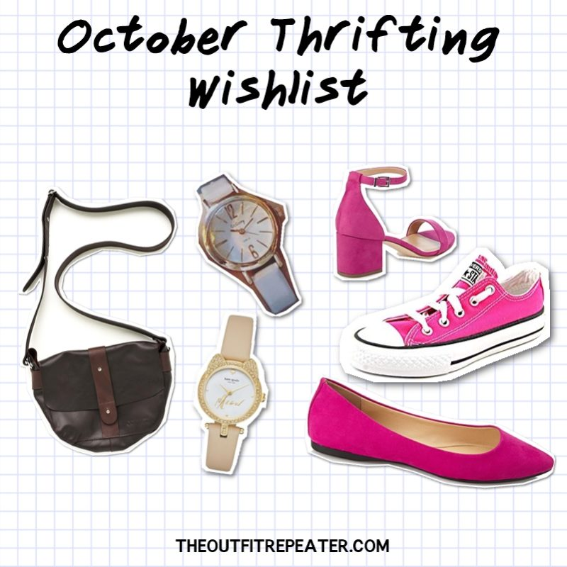 hannah rupp the outfit repeater october thrifting wishlist