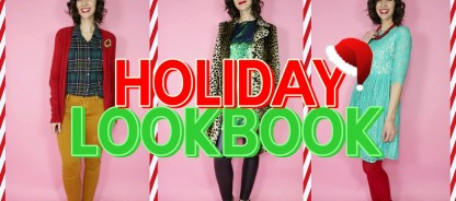 A Holiday Lookbook | 15 Celebratory Outfit Ideas