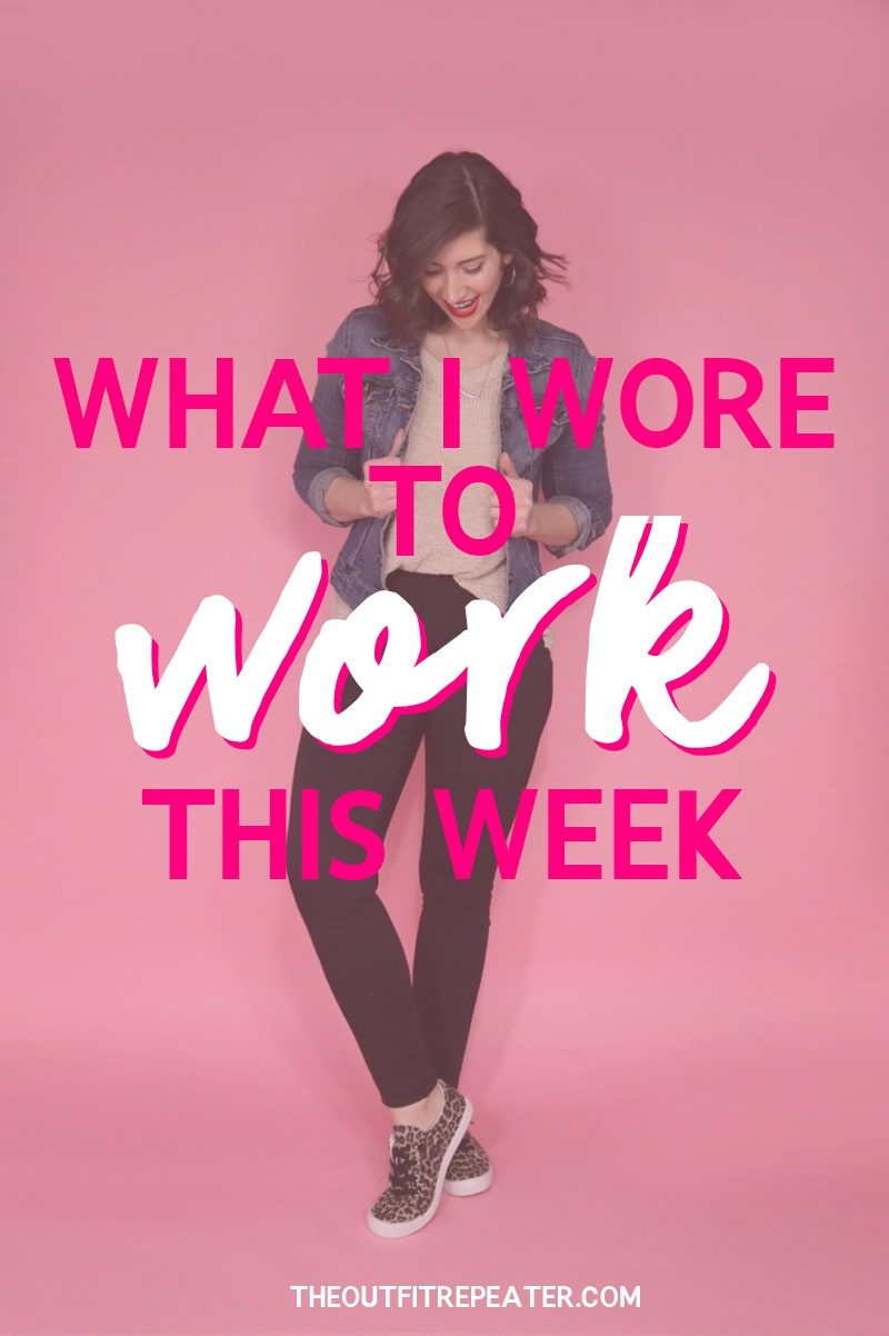 What I Wore To Work This Week maurices spring march 2019 hannah rupp outfit repeater