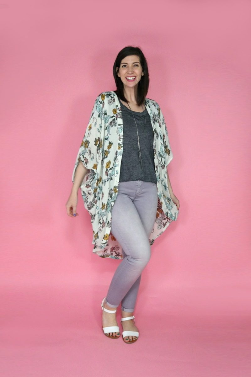 maurices work outfits spring 2019 kimono inspiration hannah rupp